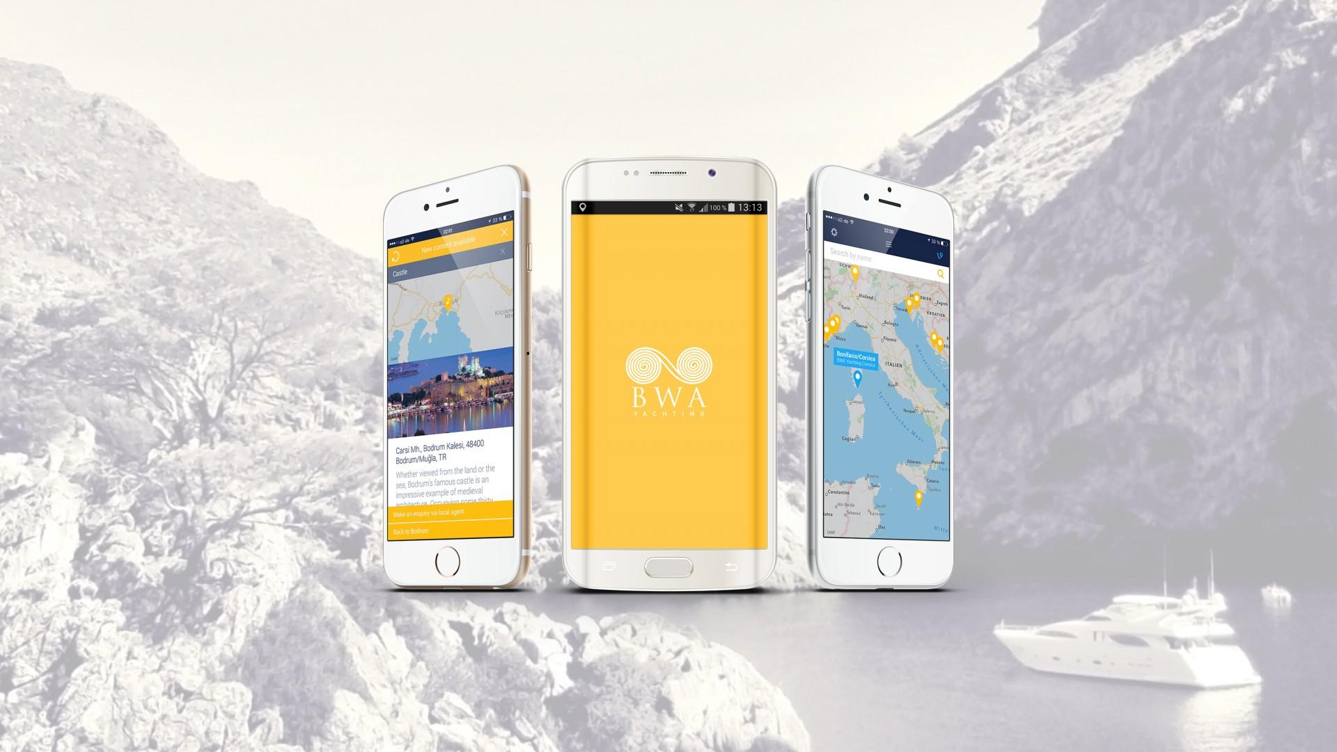 BWA Yachting – App Development